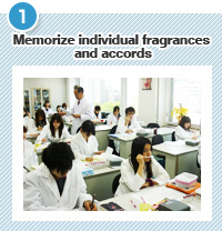 Memorize individual fragrances and accords