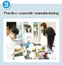 Practice cosmetic manufacturing