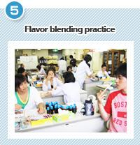 Flavor blending practice