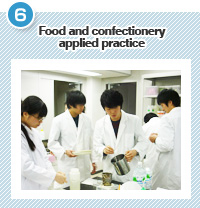 Food and confectionery applied practice