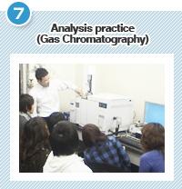 Analysis practice (Gas Chromatography)