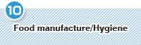 Food manufacture/Hygiene