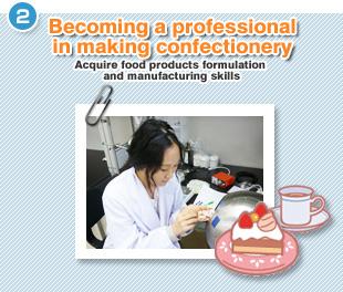 食品系製品の配合と製造技術の修得