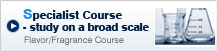 Specialist Course- study on a broad scale